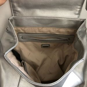 Guess Bags - GUESS silver backpack